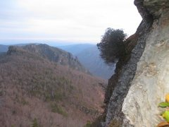 Rock Climbing Photo: View towards the Chimneys from the first belay sta...