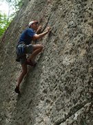 Rock Climbing Photo: Kevin Heckeler suffering with a bad case of H1N1.