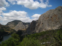 Rock Climbing Photo: El Chorro