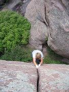 Rock Climbing Photo: Who's that?