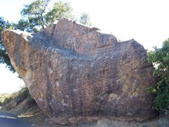 Rock Climbing Photo: Trojan Boulder, east face
