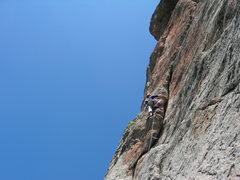 Rock Climbing Photo: Nate Arganbright. Pitch 3 Laura Scudders. August 1...
