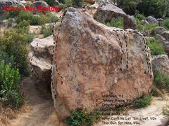 Rock Climbing Photo: Entry Way Boulder, Lizard's Mouth.