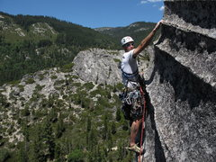 Rock Climbing Photo: With stunning views taken in on many of the leap c...