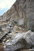 Rock Climbing Photo: Slide Zone Area