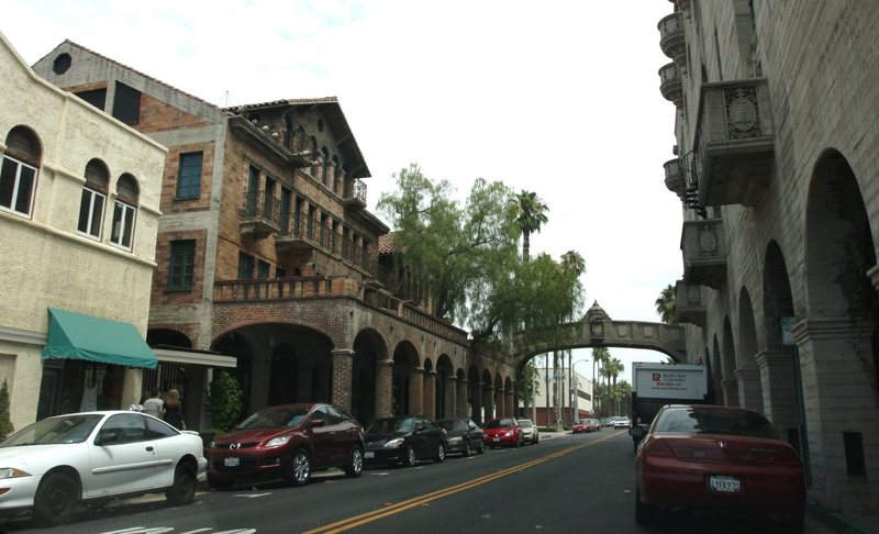 Historic part of downtown Riverside