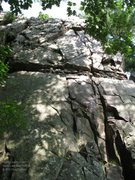 "Rock Climbing Photo: A shady view of ""North Country"""