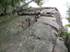Rock Climbing Photo: A bit further along
