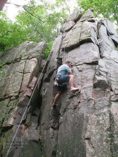 Rock Climbing Photo: Part of the fun of going to an obscure area is mak...