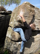Rock Climbing Photo: Pommel V4
