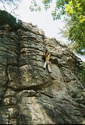 Rock Climbing Photo: Climbing at Sand Rock in Alabama