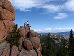 Rock Climbing Photo: Lost Creek Wilderness, CO