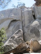 Rock Climbing Photo: Ant Line starts on the left behind the bush and he...