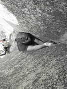Rock Climbing Photo: Crack love at its finest.   [check that rock hug! ...