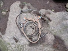Rock Climbing Photo: Some trash anchors we replaced with Sanirang.