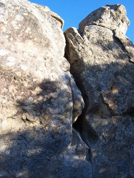 Rock Climbing Photo: Touch of Evil, V0-