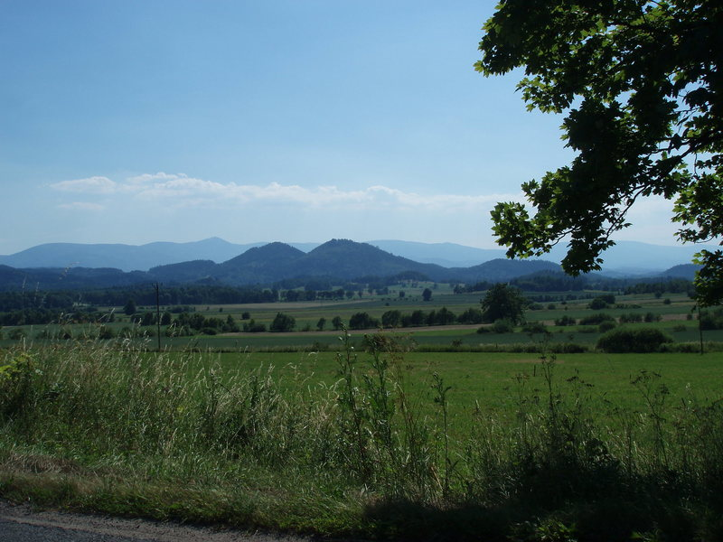 The two mountains of fun viewed from the North
