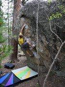 Rock Climbing Photo: Steve on Orange Roughy.