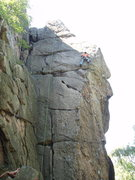 Rock Climbing Photo: Looks like Bird Land in the Gunks. But with a summ...