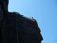 Rock Climbing Photo: go Kasia!