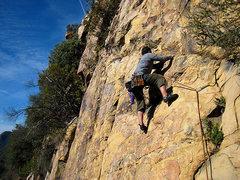 Rock Climbing Photo: Dave series 1