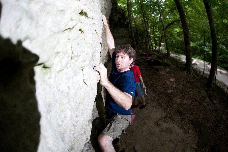 Rock Climbing Photo: Me on the main wall