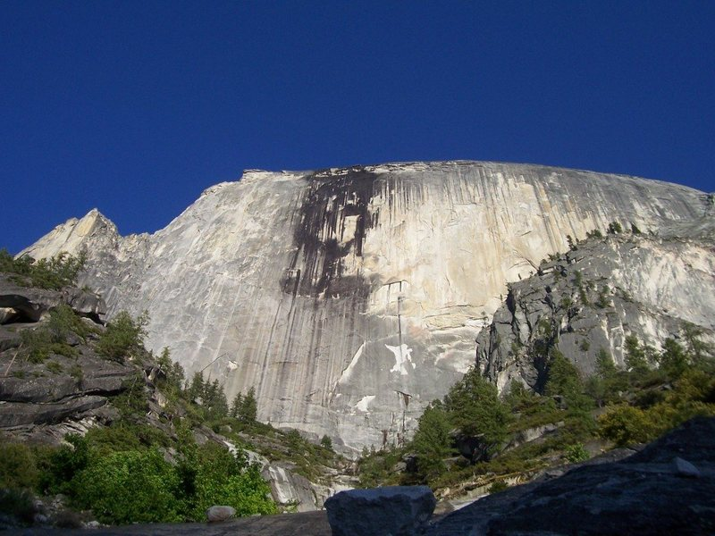 The Regular NW face of Half Dome