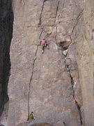 Rock Climbing Photo: The part of the crowd not tethered to my rope leav...
