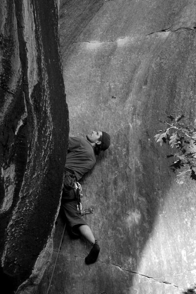 Rock Climbing Photo: another of me in the corner...  photo by jakob, ed...