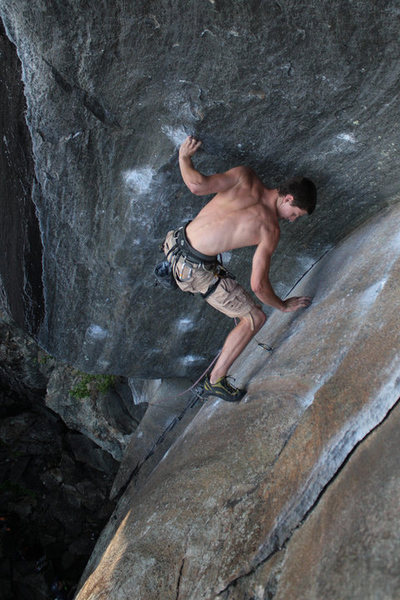 Rock Climbing Photo: one more of kevin...