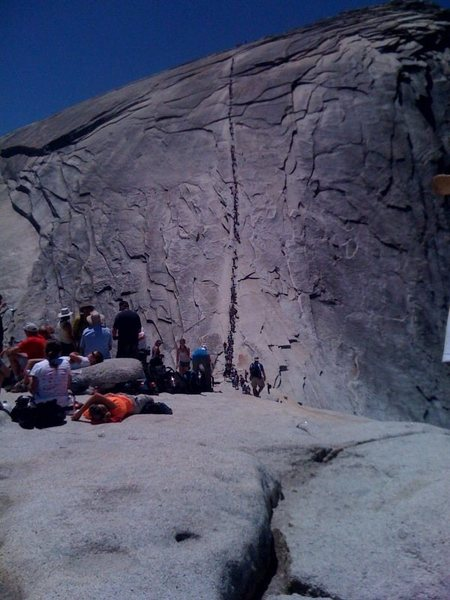 Rock Climbing Photo: Yea...  They're busy.