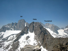 Rock Climbing Photo: Temple-Galey-Sill traverse & the Palisades