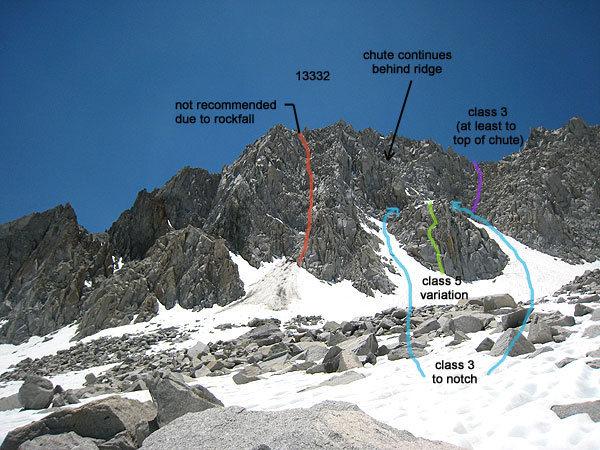 Rock Climbing Photo: NE routes