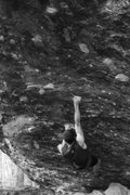 "Rock Climbing Photo: Philip on the super classic ""Frontman"" (..."
