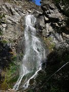 Rock Climbing Photo: Bridalveil Falls, lower Spearfish Canyon.  Amazing...