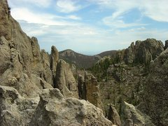 Rock Climbing Photo: From the top of Khayyam looking east.
