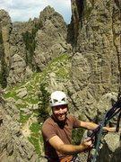 Rock Climbing Photo: Dew