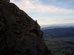 "Rock Climbing Photo: ""Lunacy"" 11.a Callahans, Or"