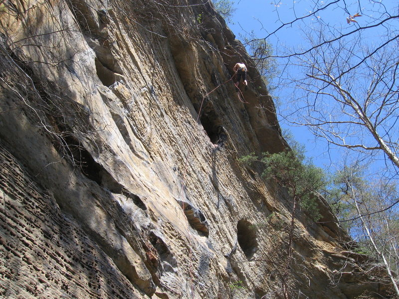 Rock Climbing Photo: Bathtub Mary at RRG