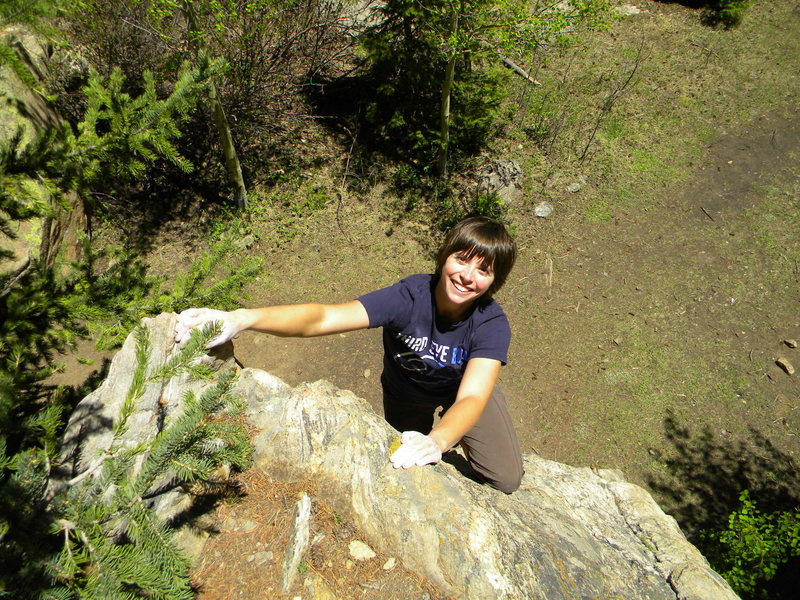 Bouldering at Independence Pass<br>