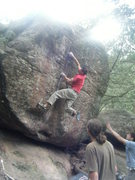 Rock Climbing Photo: Misha on Hollow's Way.