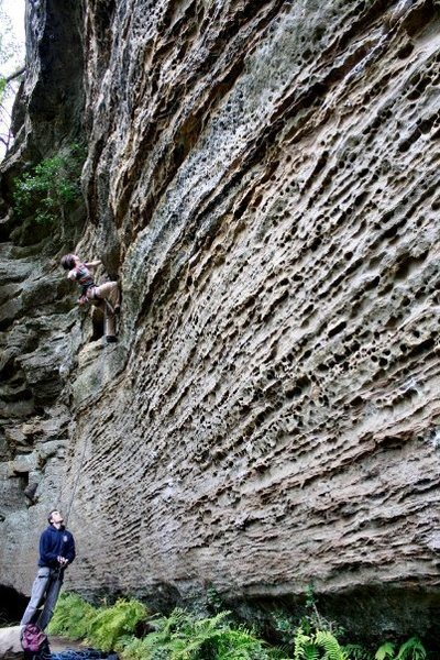 Rock Climbing Photo: Manifest Destiny