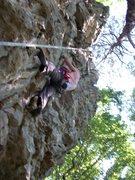"Rock Climbing Photo: ashley on ""float"""