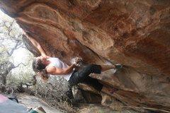 Rock Climbing Photo: sending Lithologic. (Photo: Robert Slingsby)