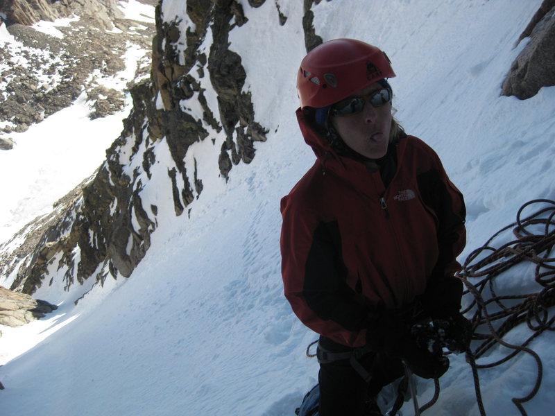 Rock Climbing Photo: Sassin' the photgrapher.