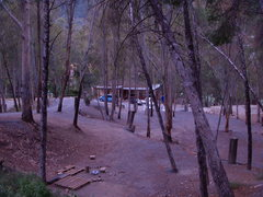Rock Climbing Photo: The campground, with a look at the restaurant.