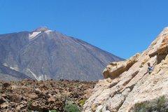 Rock Climbing Photo: Zona Las Canadas.  Mount Teide National Park.