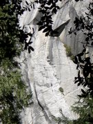 Rock Climbing Photo: Two people on the penultimate pitch of super slide...