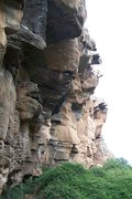 Rock Climbing Photo: Arico gorge, sector Abajo.