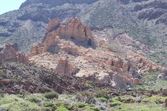 Rock Climbing Photo: Las Canadas climbing Zone, Teide National Park.